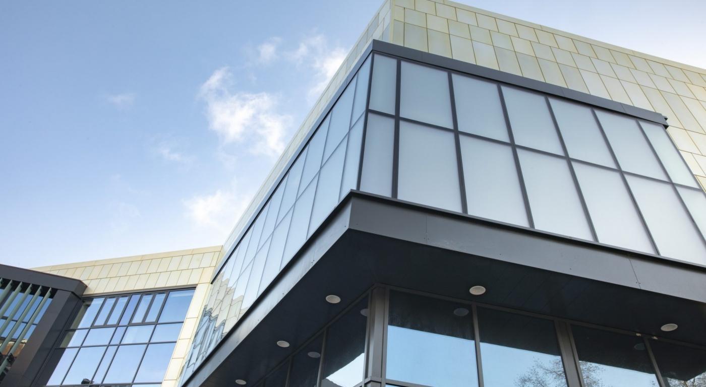 TACP Architects; Yale Wrexham exterior.  Picture Mandy Jones